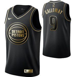 Detroit Pistons#9 Langston Galloway  Swingman